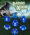 Dados de Xion: Azul Mármeron