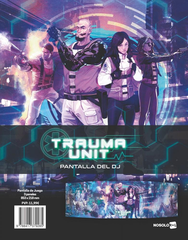 Trauma Unit: Pantalla del DJ (papel)