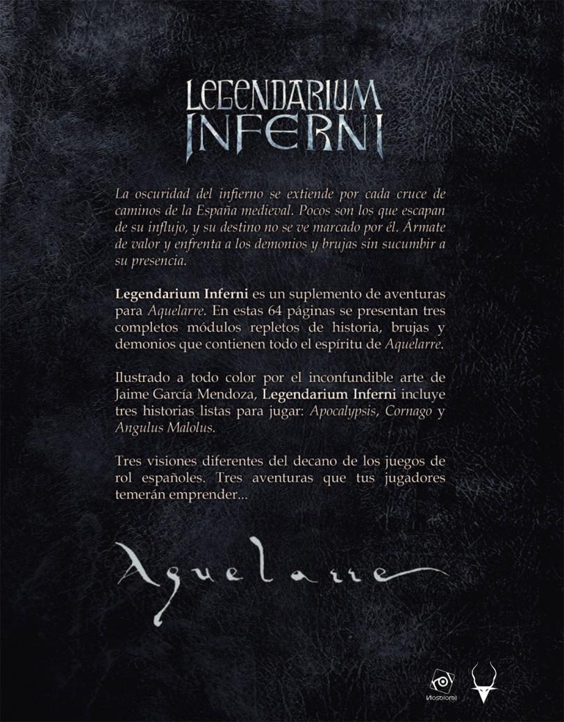 Legendarium Inferni - Nosolorol Ediciones