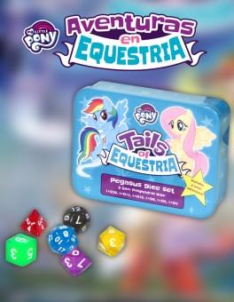 Caja de Dados Pegaso. My Little Pony: Aventuras en Equestria.