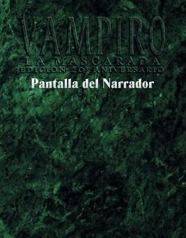 Vampiro V20: Pantalla del Narrador (papel)
