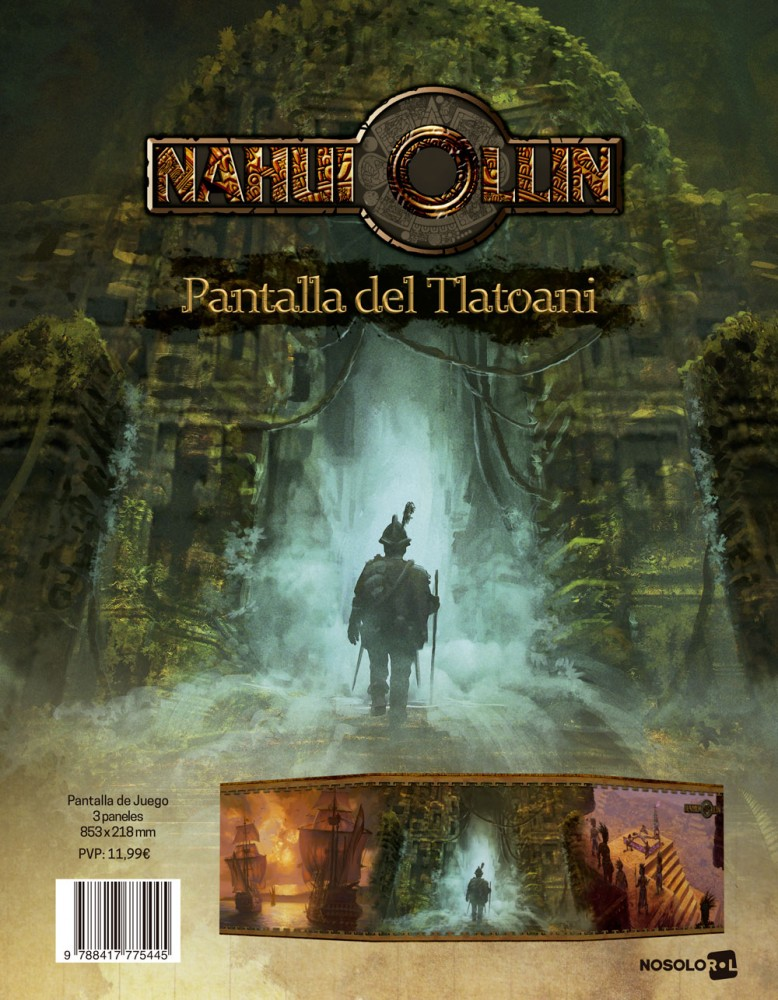 Nahui Ollin: Pantalla del Tlatoani (papel)