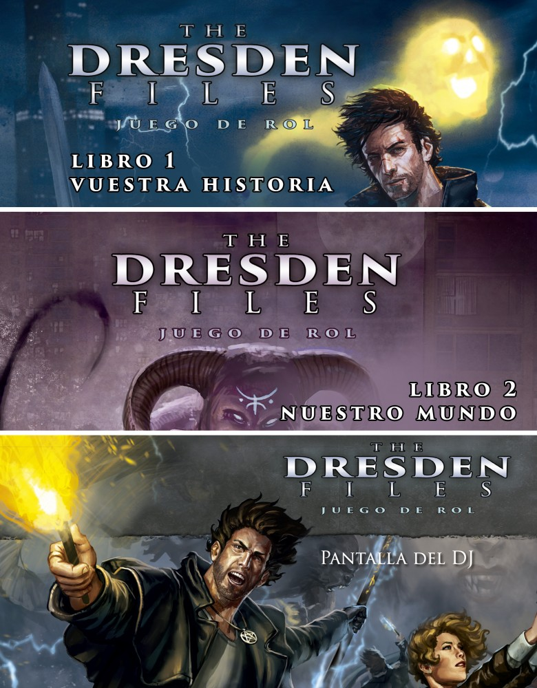 The Dresden Files: Pack juego de rol