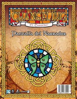 Changeling 20 Aniversario: Pantalla del Narrador