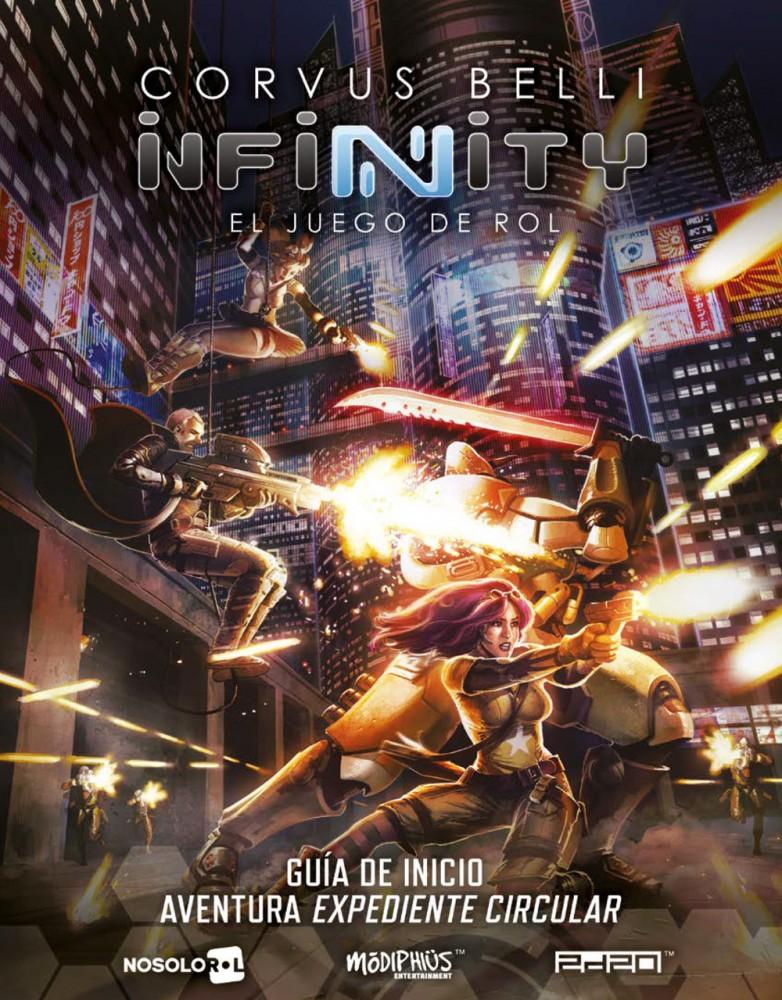 Infinity. El juego de rol (papel)