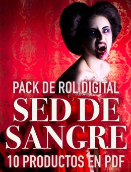 Pack de Rol Digital: Sed de Sangre