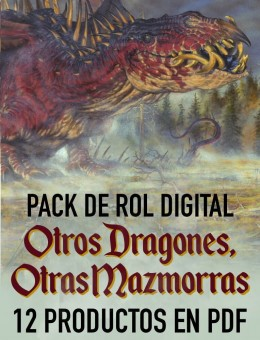 Pack de Rol Digital: Otros Dragones, Otras Mazmorras