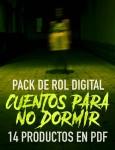 Pack de Rol Digital: Cuentos para no Dormir