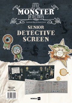 Little Monster Detectives: Senior Detective Screen