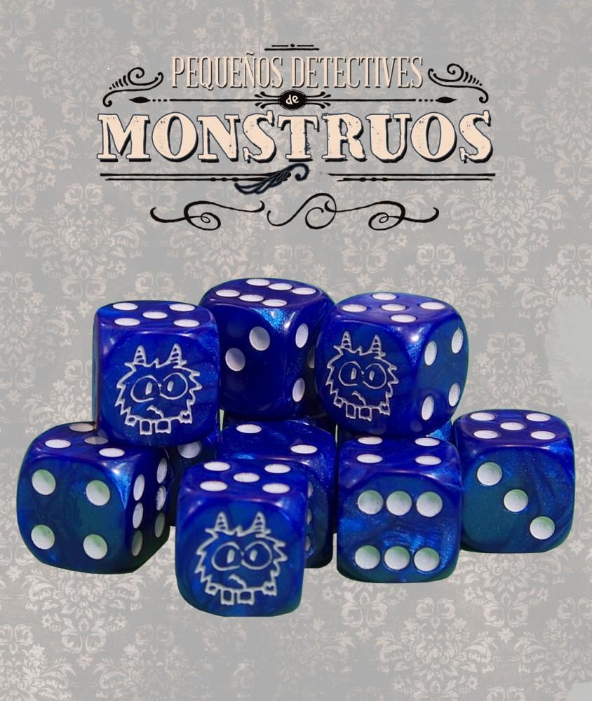 Pequeños Detectives de Monstruos: Dados de Gamusinos