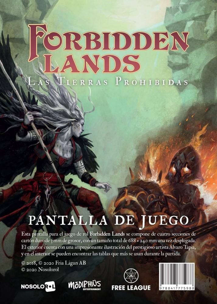 Forbidden Lands: Pantalla de Juego
