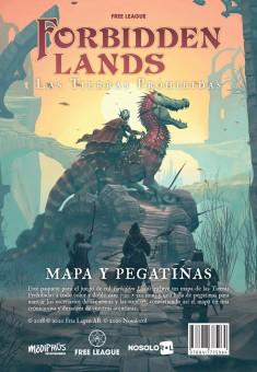 Forbidden Lands: Mapa extra de juego y pegatinas