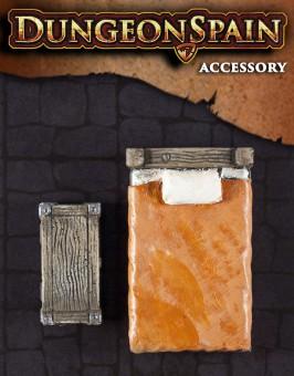 Pack accesorios 02: Cama y arcón