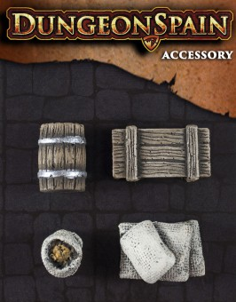Pack accesorios 04: Objetos de almacén