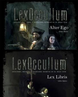 Pack LexOccultum PREPEDIDO. LANZAMIENTO 1 JULIO 2021.