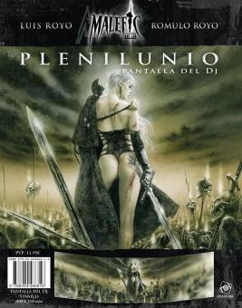 Plenilunio: Pantalla del DJ (papel)