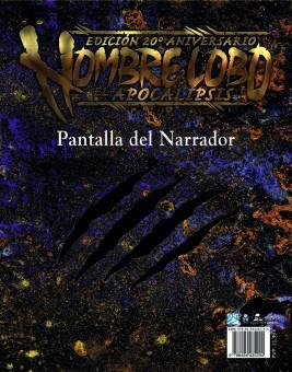 Hombre Lobo H20: Pantalla del Narrador (papel)
