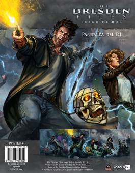 The Dresden Files: Pantalla del DJ (papel)
