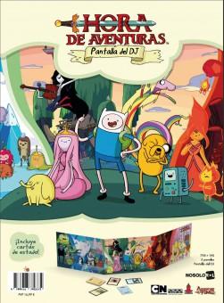 Hora de Aventuras: Pantalla del DJ (pdf)