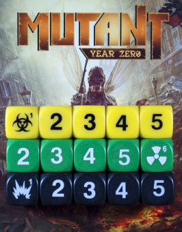 Dados Mutant: Year Zero