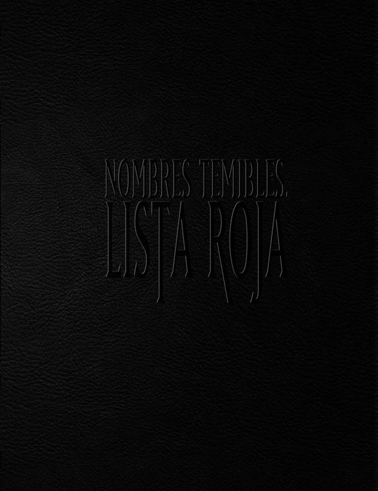 Nombres Temibles: Lista Roja Deluxe (papel)