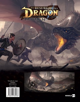 El Resurgir del Dragón: Pantalla de DJ (papel)
