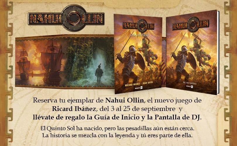 Preventa de Nahui Ollin