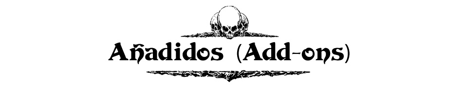 Añadidos (Add-ons)