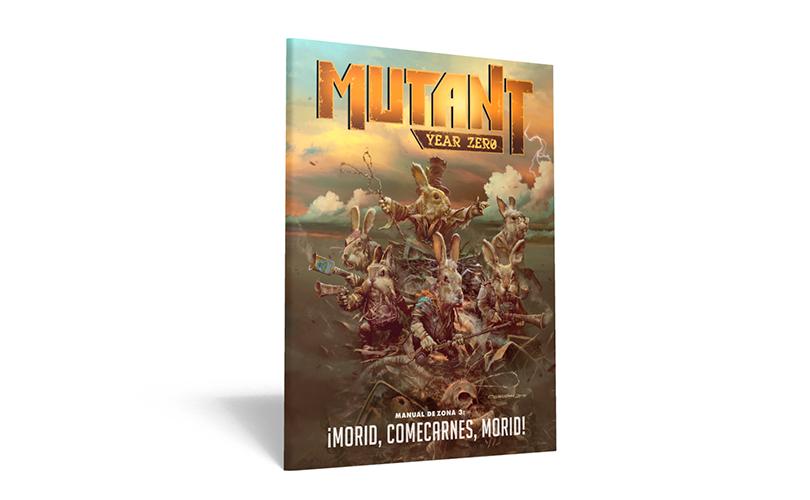 Mutant Year Zero Manual de Zona 3 Nosolorol