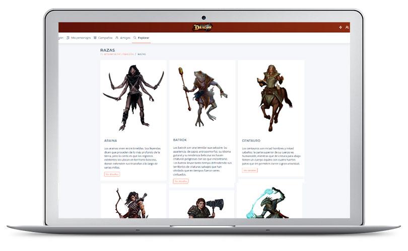App Resurgir del Dragón Nosolorol