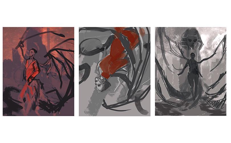 Bocetos Portada