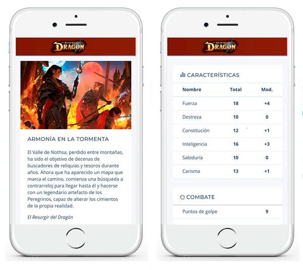 Resurgir del Dragón Nosolorol App