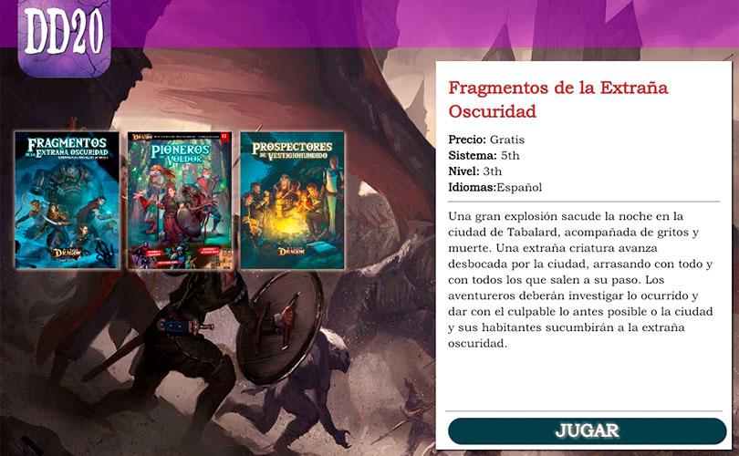 Beta cerrada de la App de El resurgir del Dragón